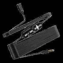 BOYA BY-M1 omnidirectional grinding microphone, for smartphones / DSLR / Camcorders, black / BOYA10122