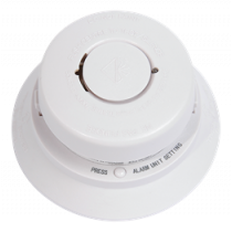 Nexa Wireless Smoke detector, 868MHz, 85dB Alarm, 868MHz, Compatible with Nexa Bridge, White BV-116 / 13538
