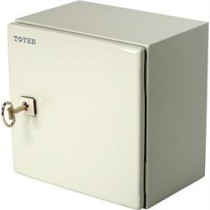 TOTEN, lockable wall cabinet with cable access, 300x210x300mm, IP66, CB.1033.900 / CB-3030
