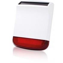 Siren CHUANGO, wireless, 110dB, white/red / CG-SPS-260