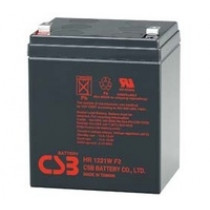 Lead acid battery 12V 5Ah 21W F2 Pb CSB  CSB-HR1221W