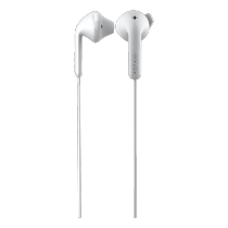 Earphone DeFunc Go HYBRID, white / D0142
