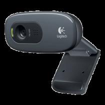 Logitech HD Webcam C270 - Webcam - color - 1280 x 720 - audio - USB 2.0   DEL2021542