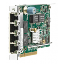 Network adapter HP 331FLR,  PCIe 2.0 x4, GigE, 4 ports,  629135-B21 / DEL3000716