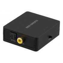 Converter DELTACO Toslink - 2xRCA and 3.5mm / DG-AN1