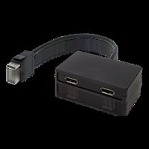 DisplayPort splitter, 1xDisplayPort ha - 2xDisplayPort ho / DP-904