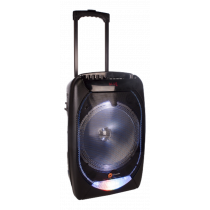 N-GEAR FLASH 1210 portable speaker, 300W, Bluetooth 4, black / purple / FLASH-1210