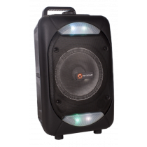 N-GEAR FLASH 610 portable speaker, 100W, Powerbank function, black / FLASH-610