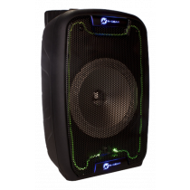 N-GEAR FLASH 810 portable speaker, 150W, microSD card slot, black / FLASH-810