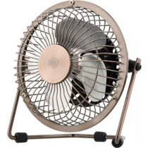 USB fan DELTACO 10cm, copper  / FT-751