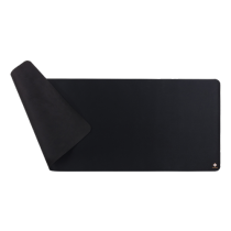 DELTACO GAMING mousepad, black / GAM-006