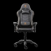 Gaming chair DELTACO GAMING PU leather, black/orange  / GAM-052
