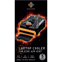 Laptop cooler box DELTACO GAMING black / GAM-073