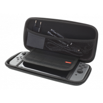 Case DELTACO GAMING for Nintendo Switch, Hard Carry, 10 pockets for games, black GAM-089