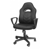 DELTACO GAMING DC110 Junior Gaming Chair, Artificial leather, height adjustable, black GAM-094