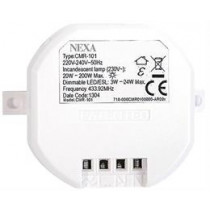 Nexa CMR-101, wireless receiver with dimmer, self-learning and compatible with System Nexa   / GT-268