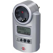Brennenstuhl EL meter, operating cost, volt / watt, silver 1506600 / GT-463