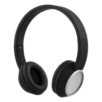 Headphones STREETZ, bluetooth, black-chrom / HL-345