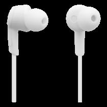 Bluetooth headset STREETZ 3 hours use, Bluetooth 5.0, white / HL-597