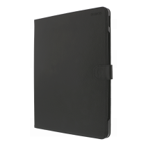"""DELTACO iPad case with support function, for iPad Pro 12.9 """"(2018), sleep / wake, vegan leather, black / IPDPRO-2018"""
