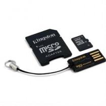Memory card, microSDHC, 32GB , micro Secure Digital High Capactiy, USB memory card reader, SDHC adapter KINGSTON (MBLY10G2 / 32GB) / KING-0602