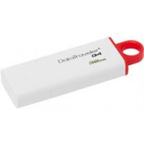 DataTraveler G4, USB 3.0 Memory, 32GB Kingston white/red / KING-1253