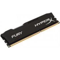 HyperX Fury Black , DIMM, DDR3, 8GB, 1600MHz, CL10, 1.5V  Kingston / KING-1351