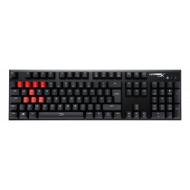 Gaming keyboard Kingston USB, 1.8m cable, black / KING-2339