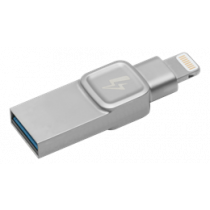 USB-A / Lightning memory KINGSTON 32 GB, iOS App, silver C-USB3L-SR32G-EN / KING-2766