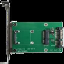 mSATA to SATA adapter card, 22pin SATA DELTACOIMP green / KT006A