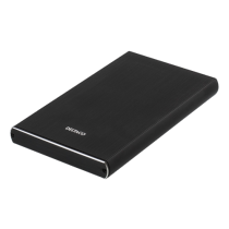 "HDD enclosure DELTACO SATA 2.5"" USB 3.1, USB-C, black / MAP-GD49C"