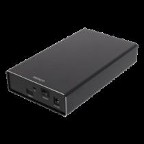 HDD enclosure DELTACO External 3.5 HDD enclosure, USB-C, USB 3.1 Gen2, 10 Gbps, black / MAP-K3527C