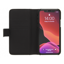 DELTACO Wallet Case 2-in-1, iPhone 12/12 Pro, magnetic cover, black MCASE-WIP1261