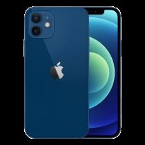 """Apple iPhone 12 - Smartphone - dual-SIM - 5G NR - 128 GB - CDMA / GSM - 6.1 """"- 2532 x 1170 pixels (460 ppi) - Super Retina XDR Display (12 MP front camera) - 2 rear cameras - blue MGJE3FS/A"""