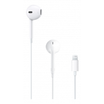 Apple EarPods with Lightning Connector, In-Ear Headset for iPhones White / MMTN2ZM/A