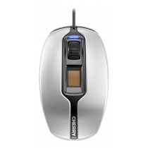 Mouse CHERRY MC 4900 wired, optical, fingerprint reader, 1.8 m USB cable, gray / MS-188