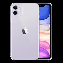 """Apple iPhone 11- Dual SIM - 4G-128 GB - 6.1 """"- 1792 x 828 pixels (326 ppi) - purple / MWM52QN/A"""