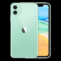 """Apple iPhone 11 - dual-SIM - 4G - 128 GB - 6.1 """"- 1792 x 828 pixels (326 ppi) - Liquid Retina HD display (12 MP front camera) - green / MWM62QN/A"""