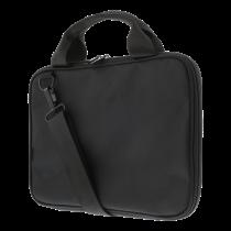 "DELTACO Laptop case, for laptops up to 12"", patterned nylon, black / NV-801"