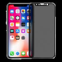 Pavoscreen 3D anti spy glass for iPhone X, 9H hardness, anti fingerprint, black  PAVO-107