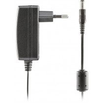 DELTACO AC Adapter, 100-240V AC 50 / 60Hz to 12V DC, 1A, 1.5m, Black / PS12-10A