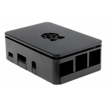 Case DesignSpark Raspberry for Pi 3 B/B+/2B, black / RPI-BOX30
