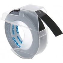 Tape DYMO 3D 9mm x 3m, black / S0898130