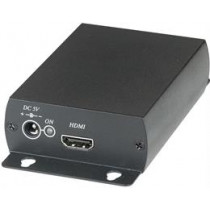 Signal converter, from HD-SDI to HDMI, BNC, Loop Out function, black / SDI01