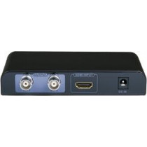 Signal converter from HDMI to dual SDI outputs, 1080p, SDI / HD-SDI / 3G-SDI, metal, black LKV389 / SDI06