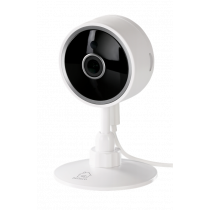 "DELTACO SMART HOME network camera for indoor use, WiFi 2.4GHz, 1080p, IR 10m, 1/4 ""CMOS, microSD, white  SH-IPC02"