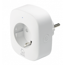 DELTACO SH-P01E Smart Plug with energy monitoring, 2.4GHz, white