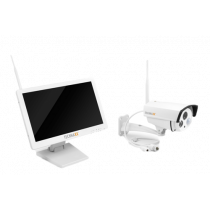 "Camera Technaxx  18.5"", HD LCD, 720p, white / TECH-025"