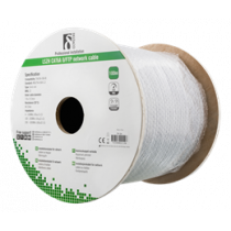 Cable DELTACO UTP, 100m, CAT6a, gray / TP-54