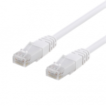U / UTP Cat6 patch cable, CCA, 5m, 250MHz EPZI white / TP-65V-CCA